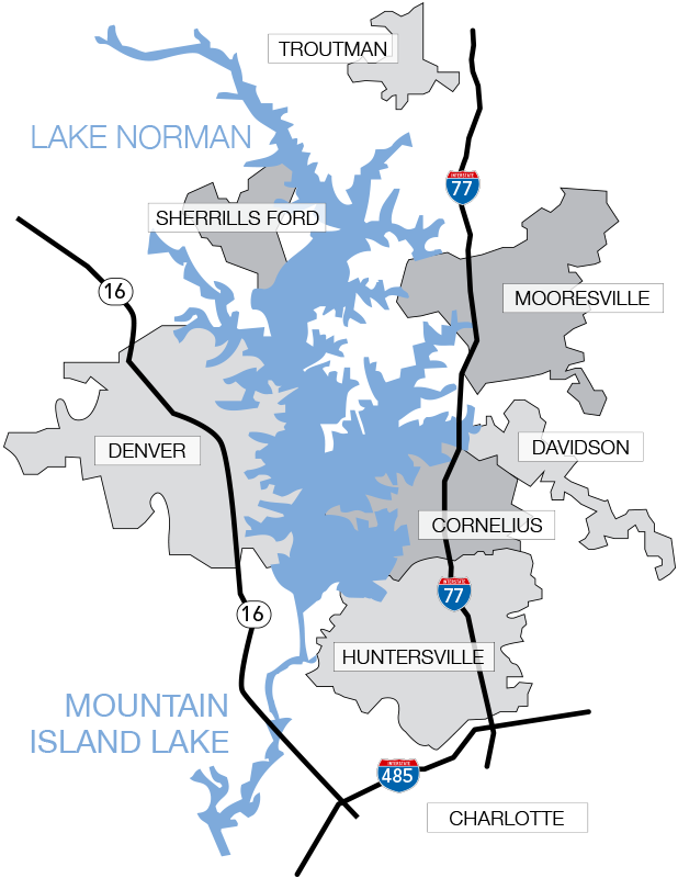 Lake Norman recently sold homes